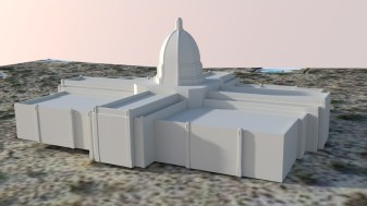 Tucson Arizona Temple render initial