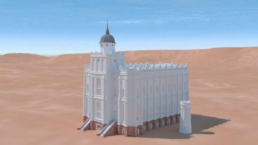 Saint George Utah Temple ~1870