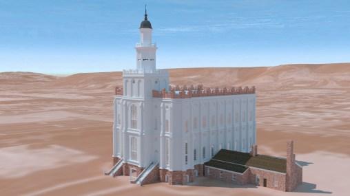 Saint George Utah Temple ~1930