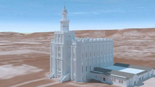 Saint George Utah Temple ~1950