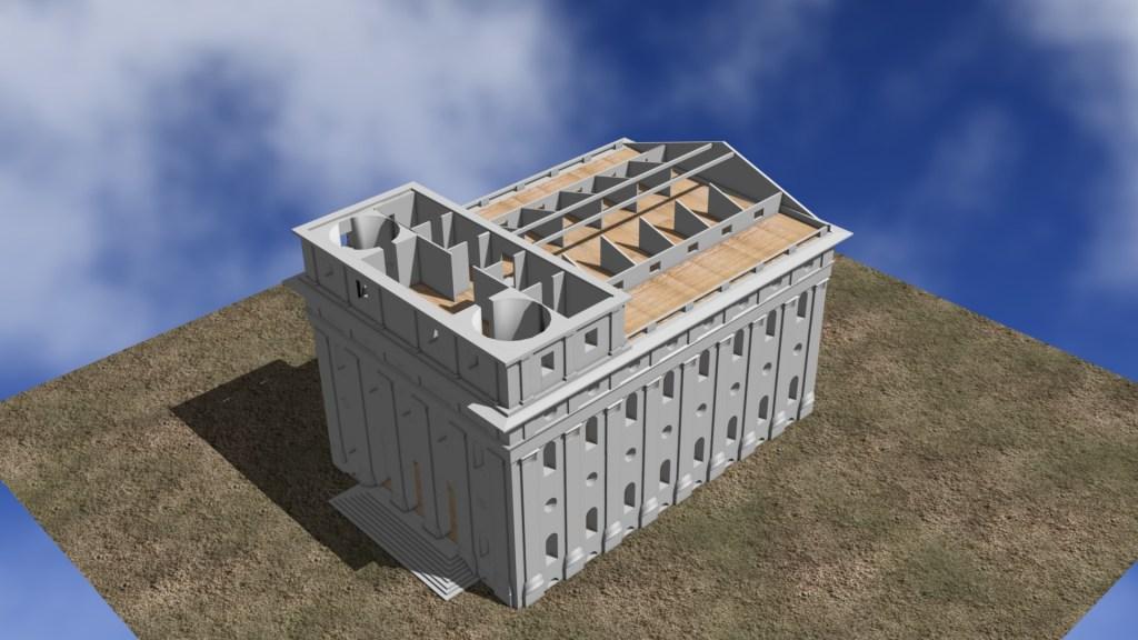 OrEarly model attic space.