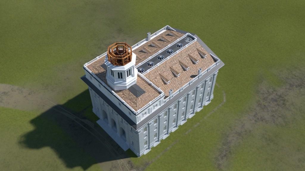 Nauvoo Temple Tower 4