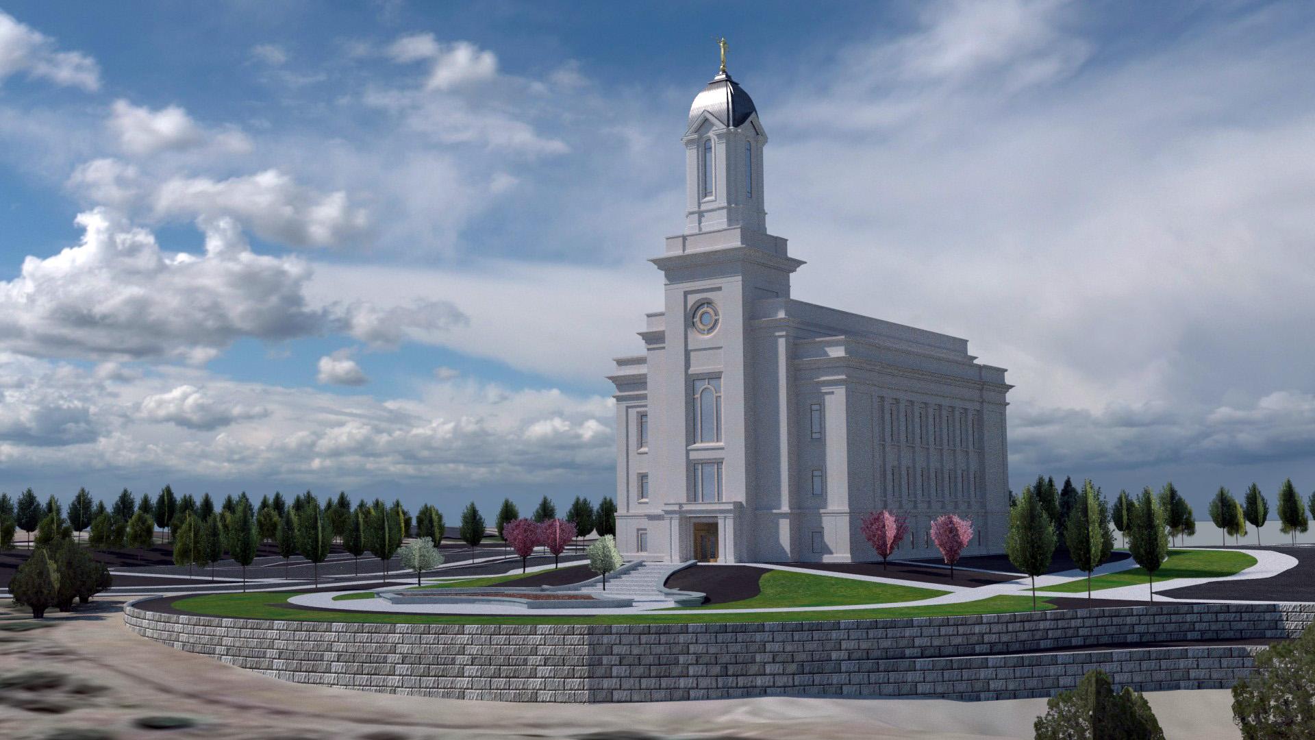 Cedar City Utah Temple Thumbnail