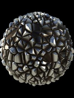 metal crystals