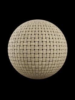 basket wood weave wicker ratan