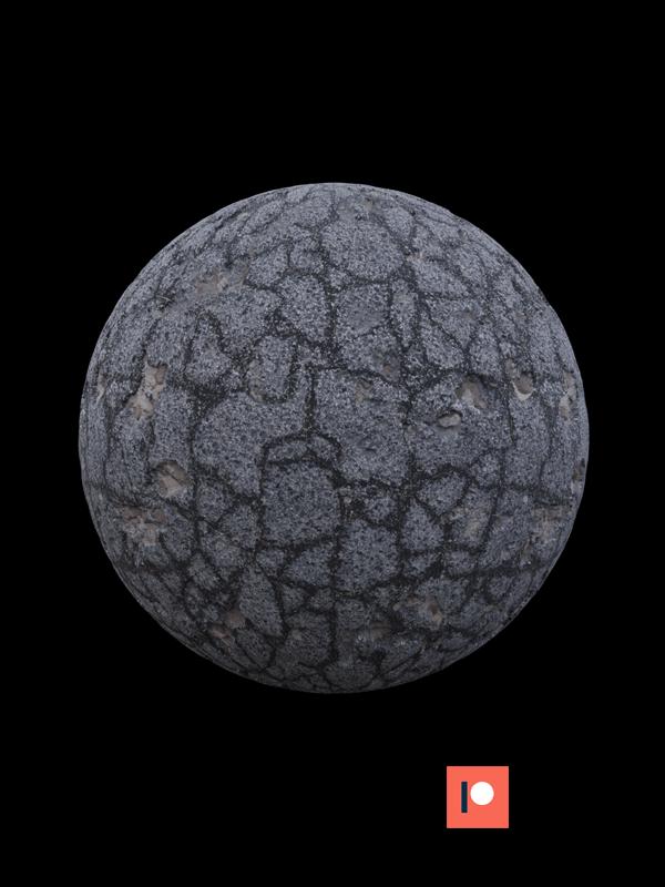 free seamless pbr asphalt tarmac texture