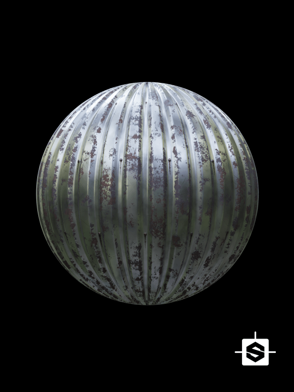free seamless texture cc0 metal corrugated substance designer