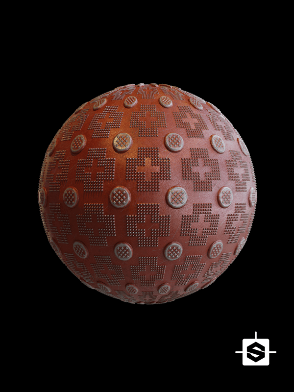 free seamless pbr metal plate textures