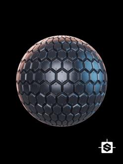 free seamless pbr metal texture scifi sci-fi