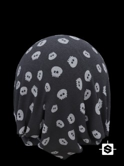 fabric textile cloth clothes skull Halloween spooky