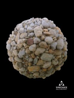 rock stone riverbed river pebble pebbles