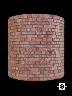 brick wall terracotta