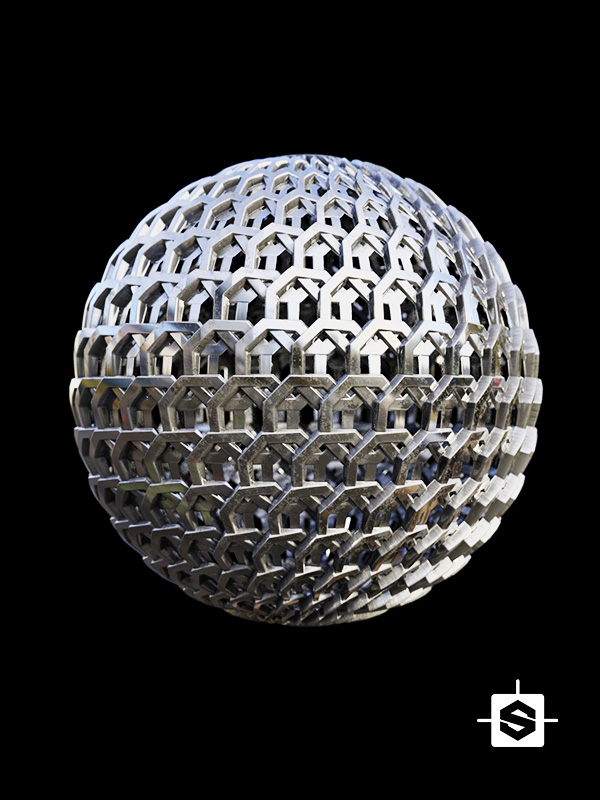 metal mesh weave armor sci-fi scifi