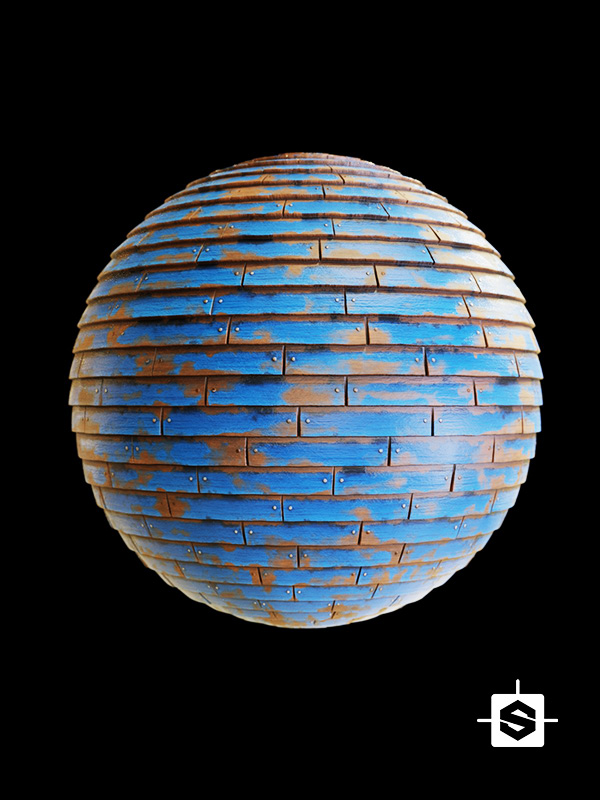 stylized wood siding wall planks