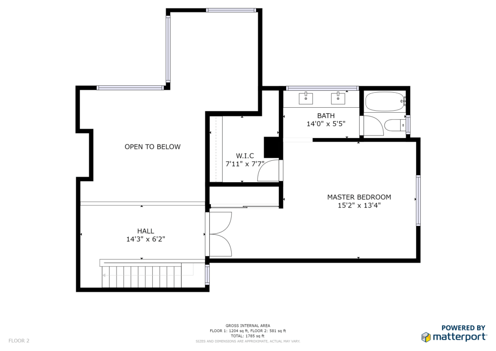 medium resolution of listed by redfin 1963 rock st unit 26 mountain view schematic floor plan floor 2