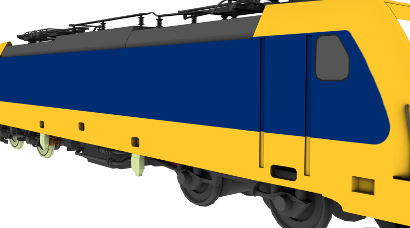 186-img Bombardier BR 186 project