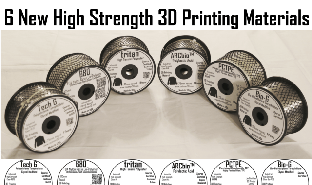 Taulman 3D Six Filament Types