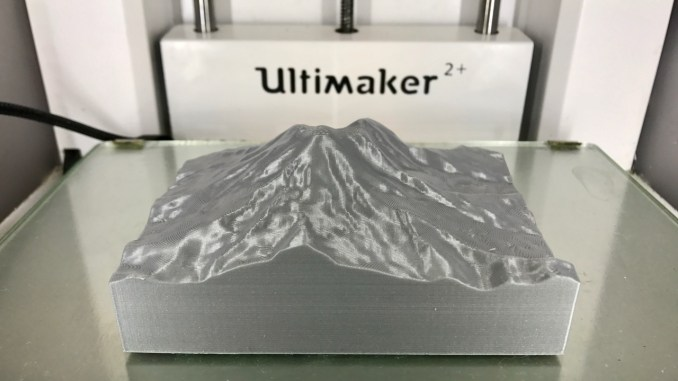 3D Print Accurate Terrain Models