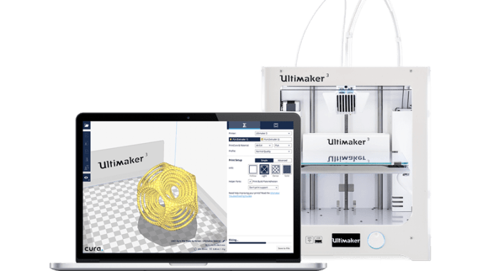 Ultimaker Cura Software Announcement - 3D Universe