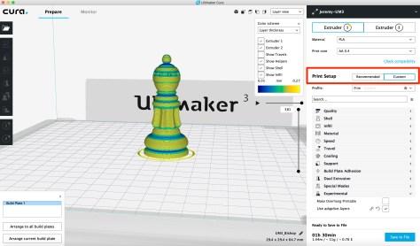 Ultimaker Cura Adaptive Layers