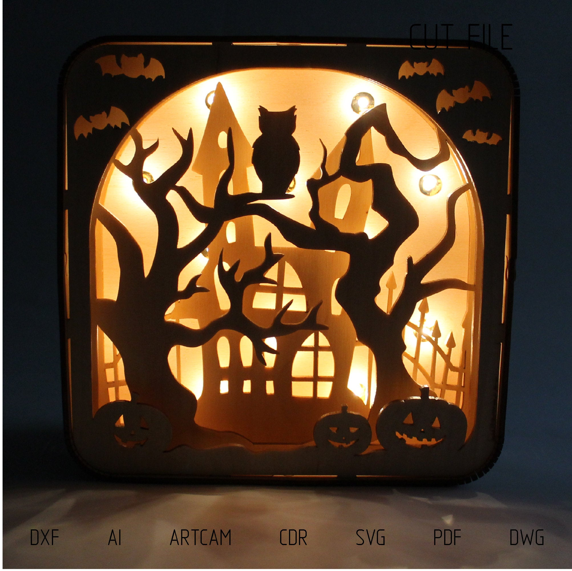 Lively Laser Cutting Projects For A Haunted Halloween 3d Universe