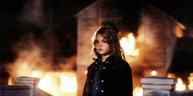 "Still frame from the movie ""Firestarter"""
