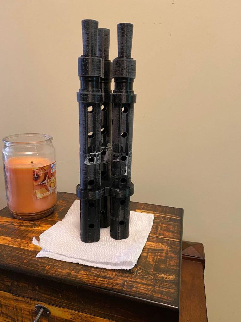 Serial Kilter 3D Printed Heavy Infantry Mandalorian Armor blaster