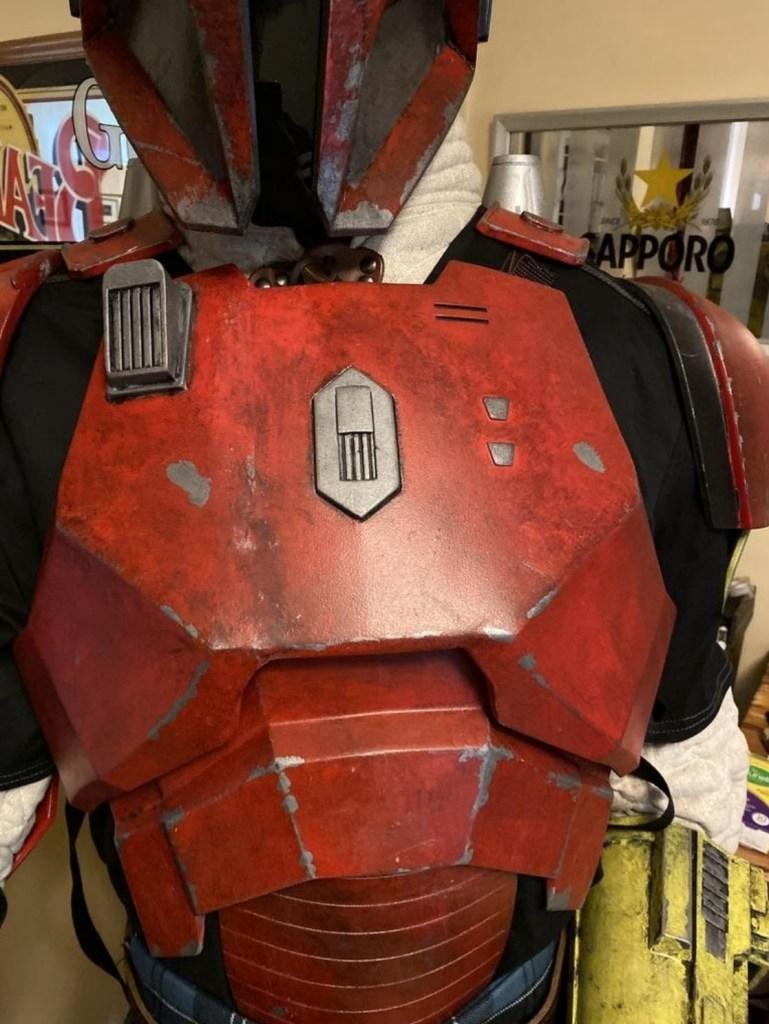Serial Kilter 3D Printed Heavy Infantry Mandalorian Armor chest plate