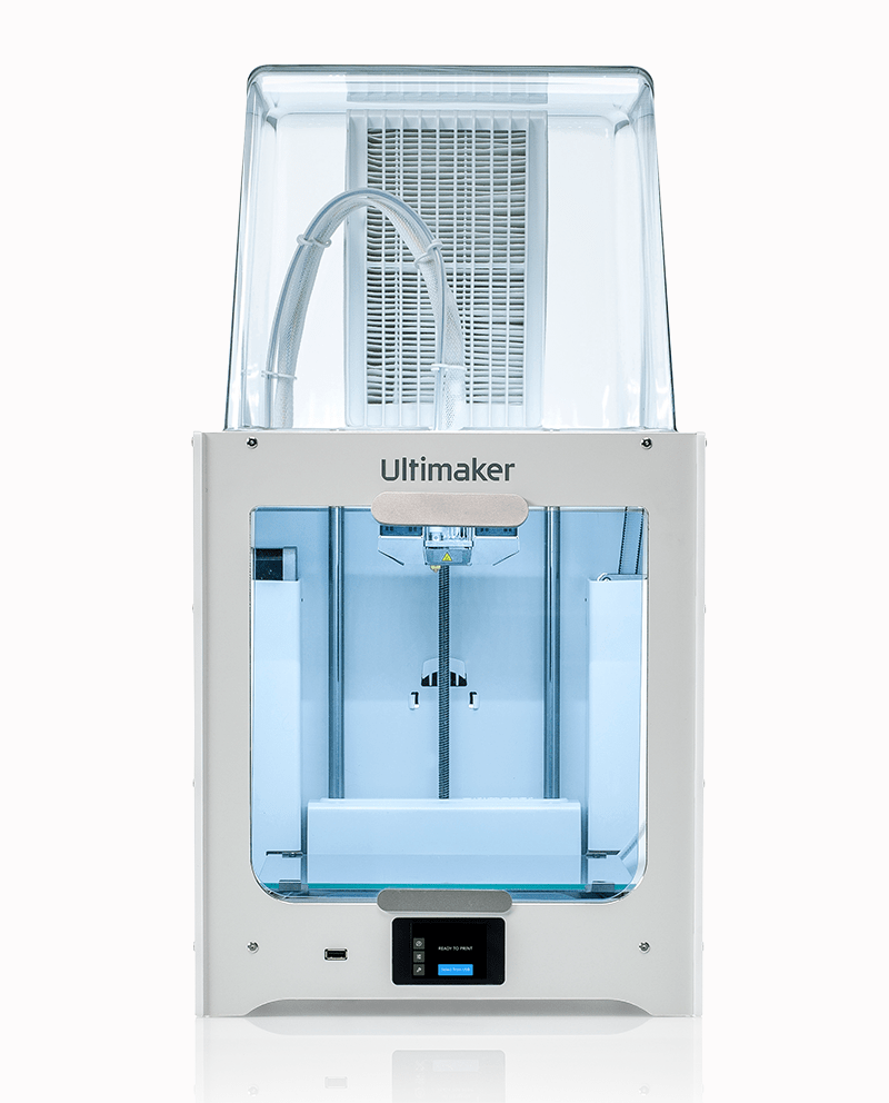 The Ultimaker 2+ Connect 3D printer