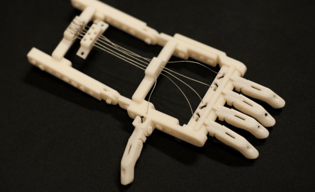The original Robohand and e-NABLE 3D printed hand design