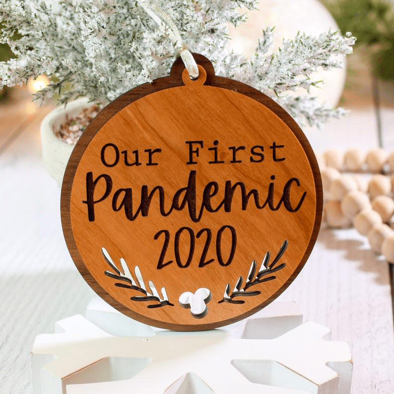 My First Pandemic 2020 ornament