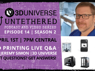 3D Printing Q&A with Jeremy Simon of 3D Universe