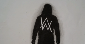 alan walker drawing
