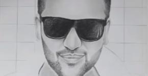 Guru Randhawa drawing