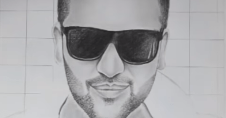 Guru Randhawa drawing