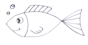 Fish Drawing Easy