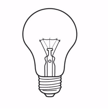Lightbulb Drawing