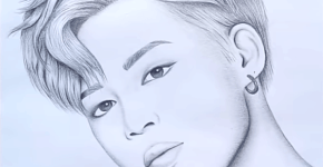 how to draw jimin