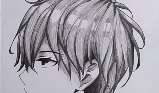 how to draw Anime Boy