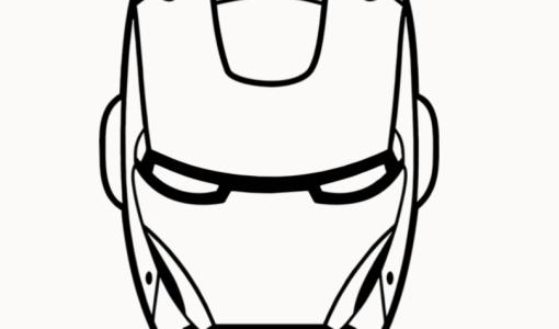 Iron man Drawing Easy