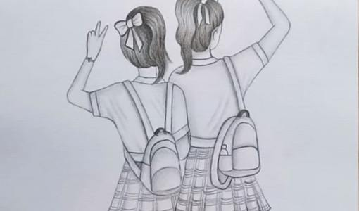 friendship drawing