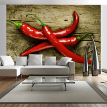 Spicy Chilli Peppers wallpaper
