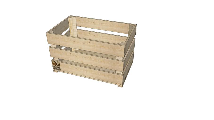 caisse pomme 3d warehouse
