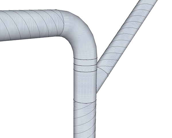 Dust Collection Pipe And Fittings