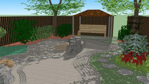 landscape ideas 3d warehouse