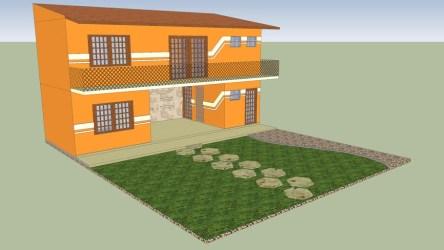 Edícula projeto 3D Warehouse