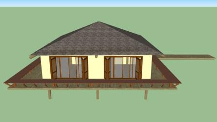 Anexo Rústico/ Casa Rústica/ Edicula Quartos 3D Warehouse