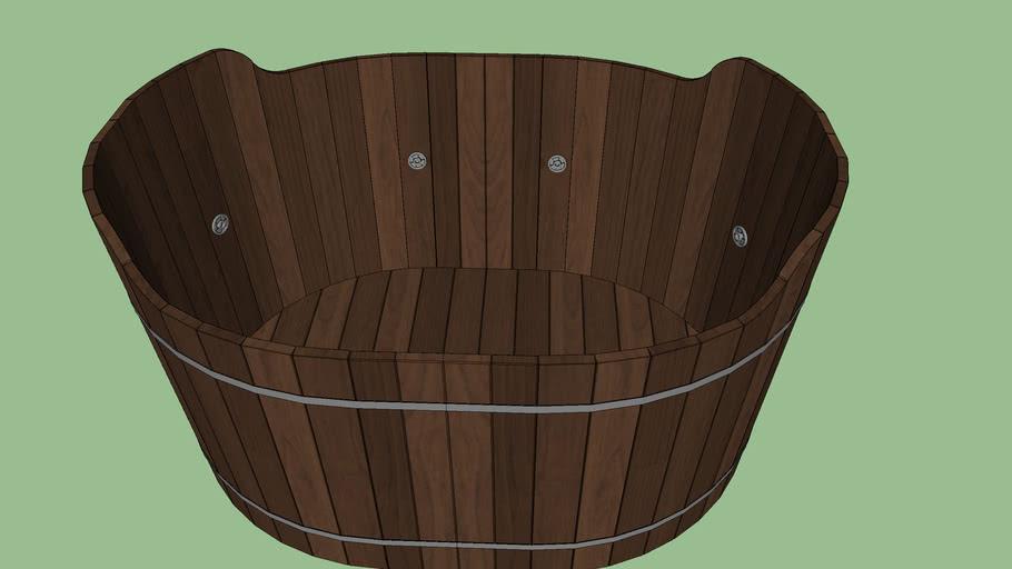 檜木桶浴缸 檜木桶 檜木浴缸 Cypress bath | 3D Warehouse
