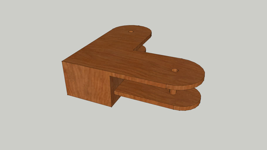 l shaped coffee table 3d warehouse