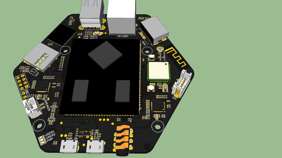 ReSpeaker Core v2.0 | 3D Warehouse